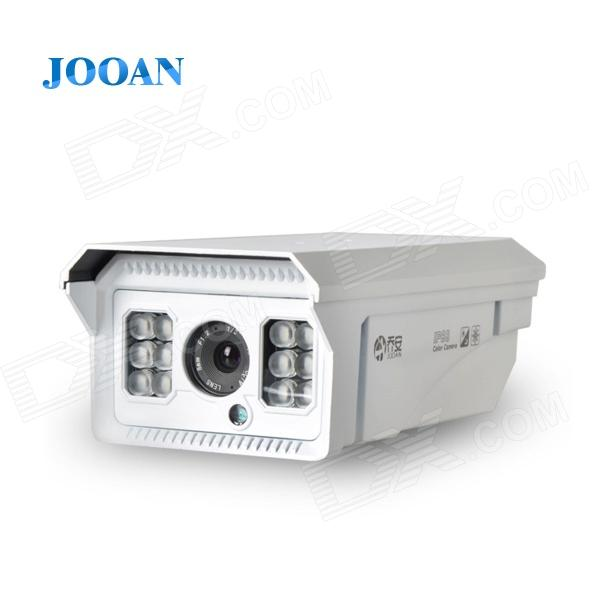 JOOAN JA-518MRC 1/3 CCD 700TVL Laser CCTV Camera w/ 12-IR-LED / IR-CUT / NTSC - White on sale mayerplus 600w double chip led grow light full spectrum for 410 730nm indoor plants and flowering high yield droshipping
