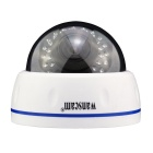 "WANSCAM HW0031 1/4"" CMOS 1.0MP Indoor Wired IP Camera w/ 30-IR-LED / Wi-Fi / TF - White (EU Plug)"