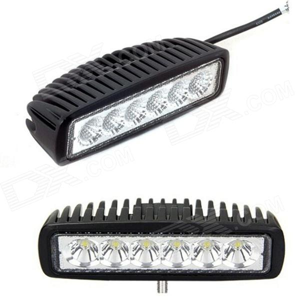 B2 DIY IP67 Waterproof 18W 1800lm 6000K White Light LED Day Light for Off-Road Vehicle (10~30V DC)