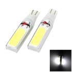 Marsing T10 20W 1500lm 7000K 4-COB LED White Light Width Lamp for Car (12V / 2 PCS)