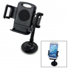 360' Rotatable Car Suction Cup Stand Holder Mount Bracket for GPS / Cell Phone - Black