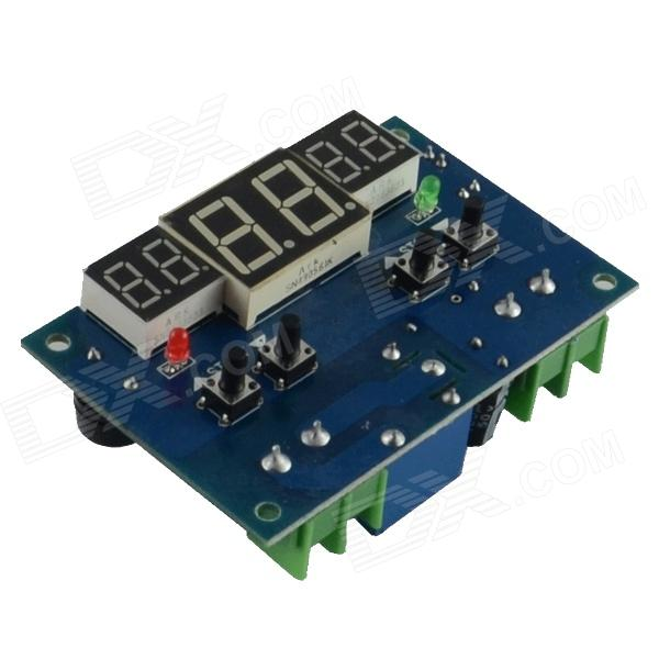 HF 0.56 Red LCD + 2-0.4 Digital Thermostat Temperature Controller - Dark Blue + Black (24V) zhongshan juchuang jcw 823 electronic thermostat temperature controller digital temperature controller