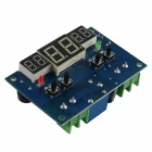 "HF 0.56"" Red LCD + 2-0.4"" Digital Thermostat Temperature Controller - Dark Blue + Black (24V)"