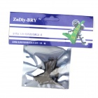 ZnDiy-BRY R205-318 DIY 18 x 3mm Nylon Screws - Black (20PCS)