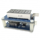 DS1307 RTC Mini Clock Display Module + 4-Digit Display Module for Arduino - Blue + Black + White