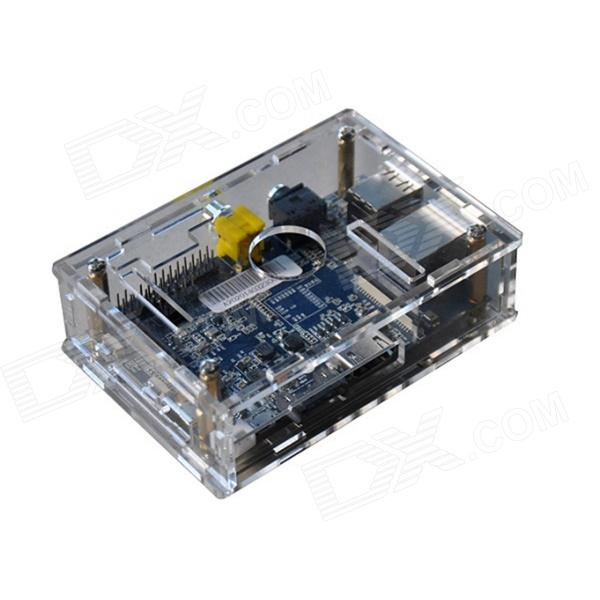 Banana Pi A20 Development Board + Acrylic Case - Deep Blue