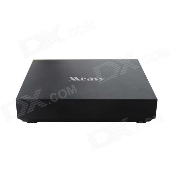 Measy B4A-Pro Android 4.4 Kitkat Quad Core Google TV Player w/ 1G RAM / 8GB ROM / XBMC / TF - Black бра artelamp a2020ap 1wh