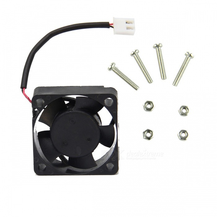 ABS 13200rpm Active Cooling Fan for V31 Acrylic Case for Raspberry Pi - Black