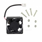 Raspberry Pi ABS 13200rpm Active Cooling Fan for V31 Acrylic Case - Black