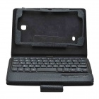 Bluetooth V3.0 60-Key Keyboard with Detachable Stand for Samsung Galaxy Tab 4 7.0 - Black