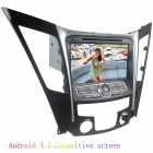 "LsqSTAR 8"" Android4.1 Capacitive Screen Car DVD Player w/ GPS WiFi SWC Canbus AUX for Hyundai SONATA"