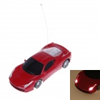 DONGLIN DL938 G-Sensor Remote Control 1:24 Scale 4-Channel R/C Car Model w/ Steering Wheel - Red