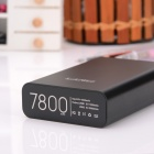 CGIG Q5  Universal 7800mAh Dual USB Output Mobile Power Bank for IPHONE 5S / Samsung - Black