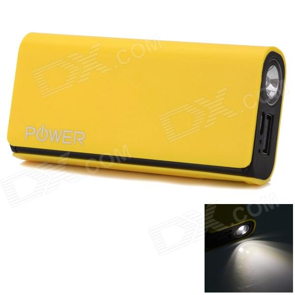 CGIG Q3 Universal 5200mAh Power Bank for IPHONE 6 / 5S / Samsung w/ LED torch