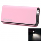 CGIG Q3 Universal 5200mAh Power Bank for IPHONE 5S / Samsung w/ LED torch - Pink