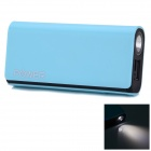 CGIG Q3 Universal 5200mAh Power Bank for IPHONE 5S / Samsung w/ LED Torch - Sky Blue