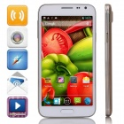 "G900W Android 4.2.2 Dual-core WCDMA Bar Phone w/ 5.0"" Screen, Wi-Fi, GPS - White + Golden"