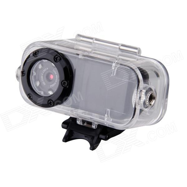F38 12.0MP Waterproof Sport Camcorder w/ Night Vision - Black