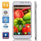 "G900W Android 4.2.2 Dual-core WCDMA Bar Phone w/ 5.0"" Screen, Wi-Fi, GPS - White + Silver"