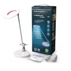 Sogood 06 5W 400lm 6500K bureau 24 LED Light Table Lamp w / Switch Touch / Port USB - Rose + Blanc