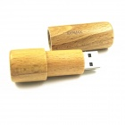 IIDOMAX M011 Classic Wood USB 2.0 Flash Drive Stick - Beige (32GB)