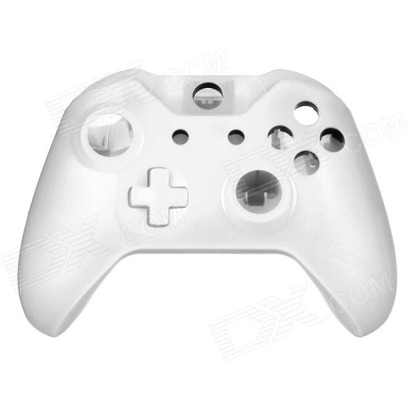 Replacement Full Housing Case + Buttons for XBOX ONE Wireless Controller - Ivory one piece 1x brand new high quality silicon protective skin case cover for xbox 360 remote controller blue green mix color