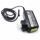 US Plug Power Adapter for Microsoft Surface Pro - Black (100~240V)