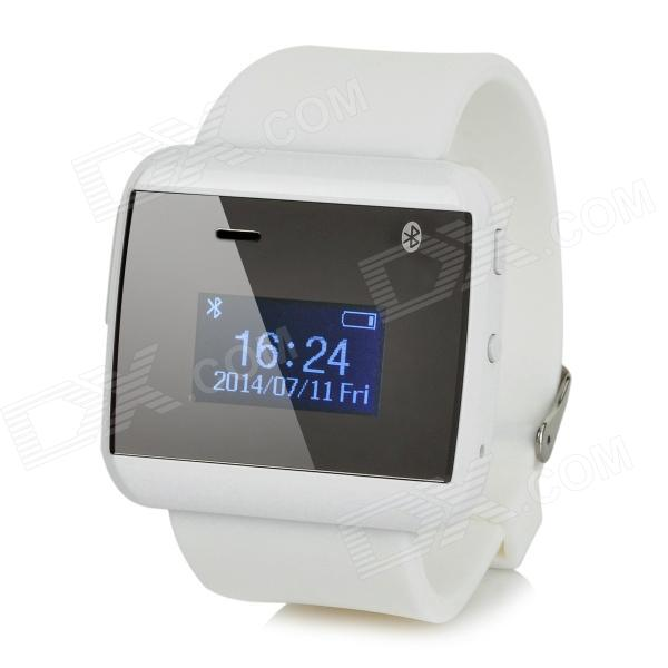 "2S 1"" OLED Waterproof Bluetooth V3.0 Wrist Watch - White Fort Lauderdale Продажа б у"