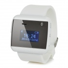 "2S 1"" OLED Waterproof Bluetooth V3.0 Wrist Watch - White"