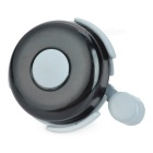 Universal Cycling Bike Bicycle Plastic + Zinc Alloy Bell - Black