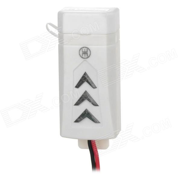 Motorcycle Mounted 5V USB Charger Power Adapter for Cellphone / Mobile Phone - White