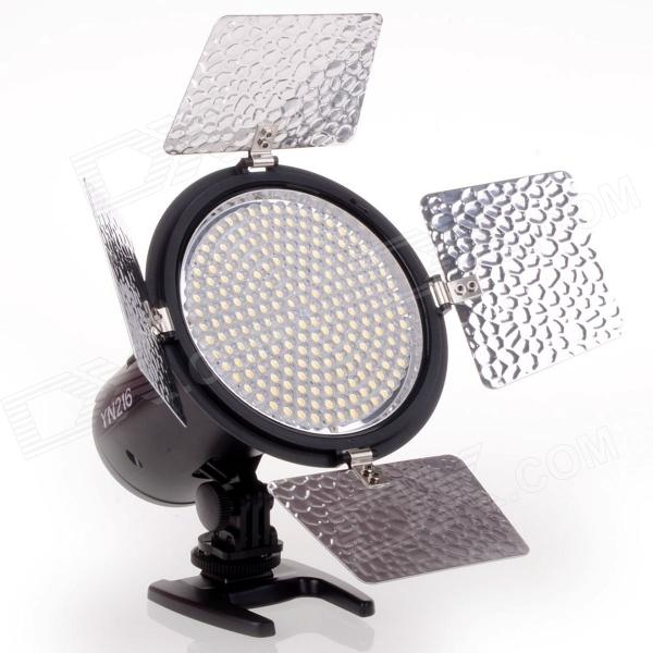 YONGNUO YN-216 Professional 5500K 2000lm LED Video Light - Black