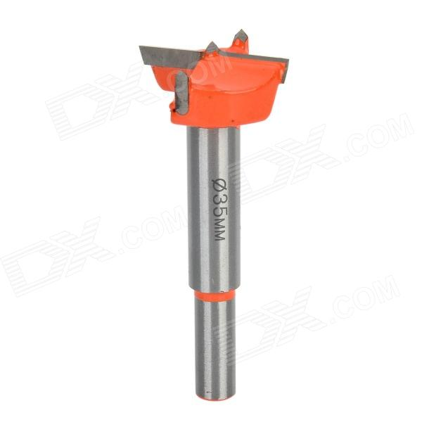 Alloy 35mm Wood / Lock Drill Hole - Orange + Silver