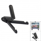 UP-4 Portable Folding Desk Stand Holder for IPAD / IPHONE / Laptops + More - Black