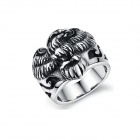 Men's Fashion Eagle 316L Stainless Steel Ring - Silver (U.S Size 7)