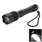 Pange 700LM Cree XM-L T6 5-Mode Rotate Zooming Cool White 400M Range Flashlight  (1 x 18650)