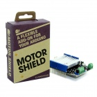 Seeedstudio SLD01102P DC Motor Driver Shield V2.0 Board for Arduino - Silver + Blue + Black