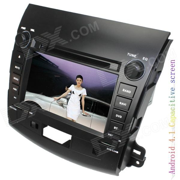 LsqSTAR 7 Android 4.1 Capacitive Screen Car DVD Player w/ GPS Canbus Wi-Fi for Mitsubishi Outlander