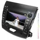 "LsqSTAR 7"" Android 4.1 Capacitive Screen Car DVD Player w/ GPS Canbus Wi-Fi for Mitsubishi Outlander"