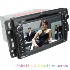 "LsqSTAR 7"" Android4.1 Capacitive Screen Car DVD Player w/ GPS BT WiFi SWC AUX for GMC Acadia/ Sierra"