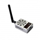 Boscam TS5830 5.8GHz 32-CH 1000mW Thunderbolt Wireless Transmitter - Silver + Dark Brown