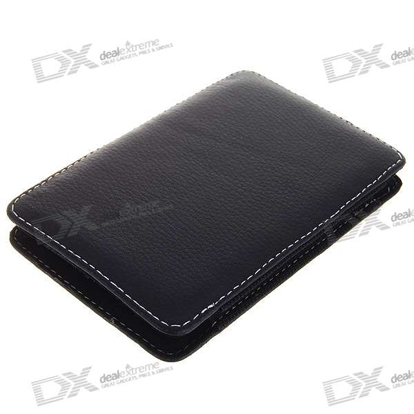 "Protective Leather Case for 2.5"" HDD (Black)"