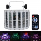 HML 30W Professional RGB Stage Light w/ Voice / RC / Manual Control - White