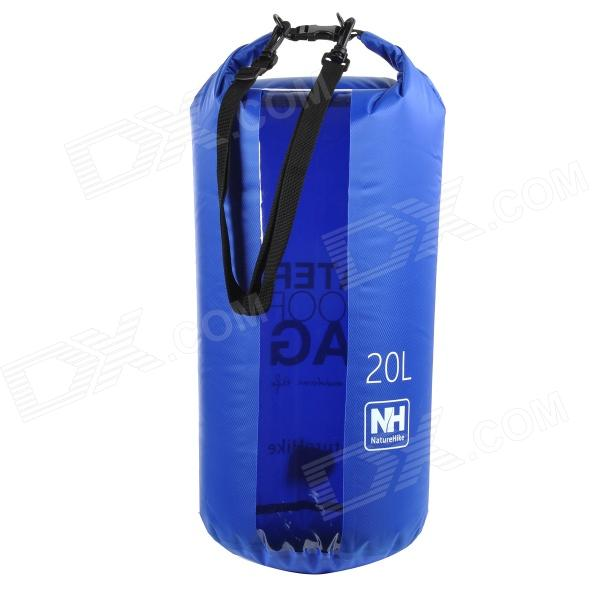 Naturehike-NH Outdoor Waterproof Bag w/ Transparent Window - Blue (20L) Tampa Покупка б у