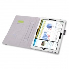 HighPro Protective PU Leather Case with Handle Strap for Microsoft Windows Surface Pro 3 - White