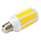Marsing E27 12W 1200lm 3500K 9-COB LED Warm White Light Corn Lamp - White (AC 220-240V)