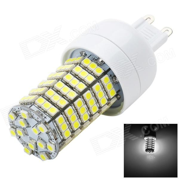Marsing G9 6W 600lm 6000K 138-3528 SMD LED White Light Corn Lamp (AC 220~240V) - DXG9<br>Color White + Yellow + Multi-Colored Color BIN White Brand Marsing Model L19 Material Aluminum Quantity 1 Piece Power 4W Rated Voltage AC 220-240 V Connector Type OthersG9 Chip Brand Epistar Chip Type LED Emitter Type 3528 SMD LED Total Emitters 138 Actual Lumens 500-600 lumens Color Temperature 6000K Dimmable no Beam Angle 120 ° Certification CE Packing List 1 x LED bulb<br>