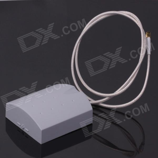 5.8G 14dB FPV Flat Panel Receiver Antenna for R/C Fixed-wing Copter Multicopter - White