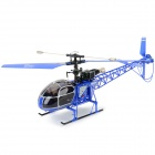 WLtoys V915 4-CH 2.4GHz Radio Control Outdoor R/C Helicopter Toy - Blue (4 x AA)