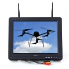 Feelworld FPV-121DT 12'' LCD Dual Antenna 32-CH FPV Ground Monitor - Black